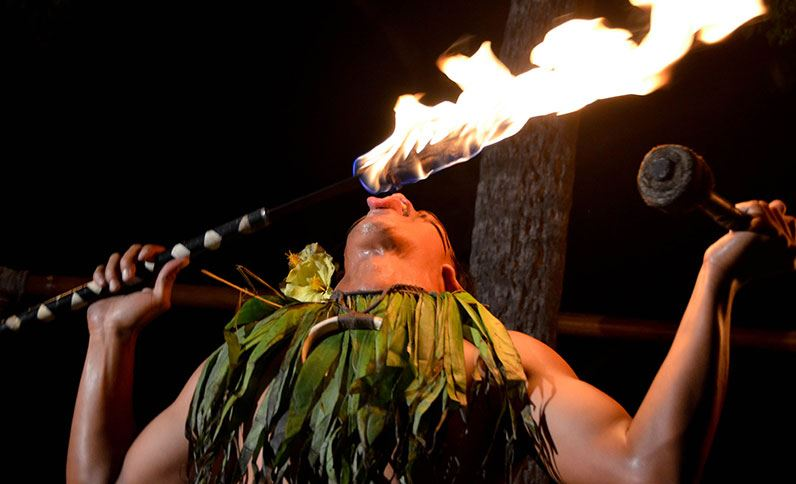 Voyagers of the Pacific Luau at Royal Kona Resort